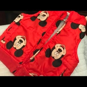 Disney Mickey Mouse Vest